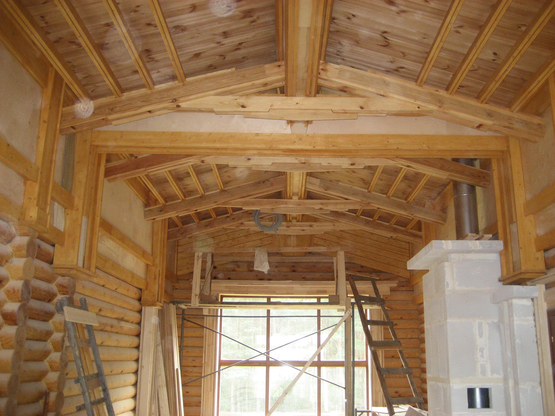 Внутренние отделки деревянных домов